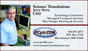 Jerry Stern, Technology Consultant